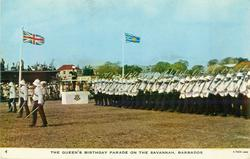 THE QUEEN'S BIRTHDAY PARADE ON THE SAVANNAH