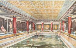 POMPEIAN SWIMMING POOL
