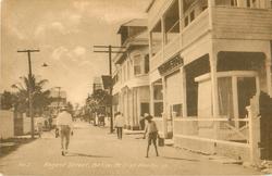 REGENT STREET, BELIZE
