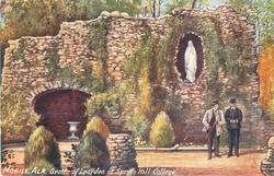 GROTTO OF LOURDES AT SPRING HILL COLLEGE
