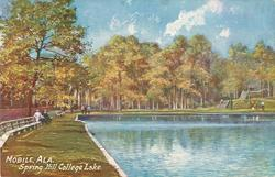SPRING HILL COLLEGE LAKE