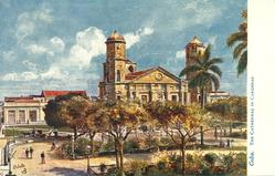 CUBA. THE CATHEDRAL IN CARDENAS