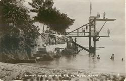 BATHING SCENE, MONTEGO BAY, ST. JAMES