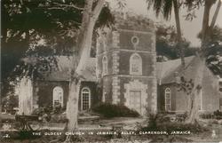 OLDEST CHURCH IN JAMAICA, ALLEY, CLARENDON