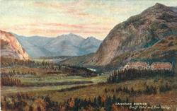 BANFF HOTEL AND BOW VALLEY