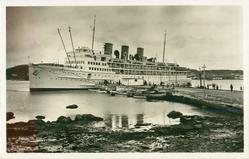 CRUISE STEAMER AT ST. ANTHONY