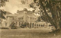 GOVERNMENT HOUSE, TRINIDAD