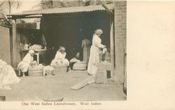 OUR WEST INDIES LAUNDRESSES, WEST INDIES
