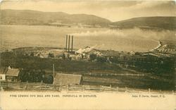 YORK LUMBER CO'S MILL AND YARD, PENINSULA IN DISTANCE