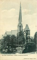 THE FIRST PRESBYTERIAN CHURCH, OSSINING-ON-HUDSON