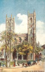 NOTRE DAME CHURCH  exterior