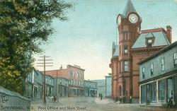 POST OFFICE AND MAIN STREET
