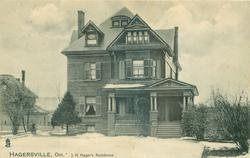 J.H. HAGER'S RESIDENCE