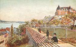 CHATEAU FRONTENAC AND CITADEL, QUEBEC