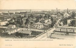 BIRD'S-EYE VIEW OF CAIRO FROM CUSTOM-HOUSE, LOOKING SOUTHEAST
