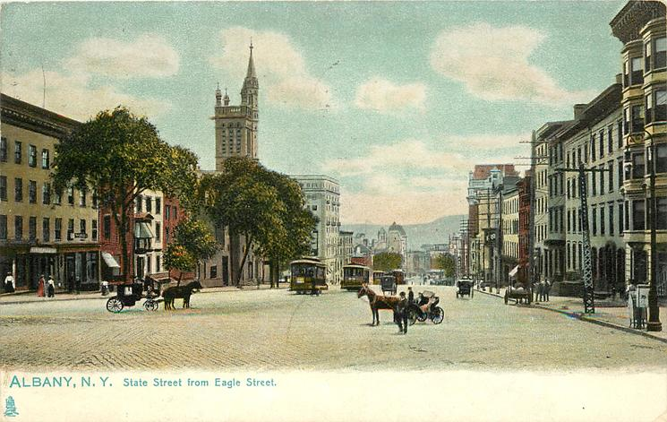 STATE STREET FROM EAGLE STREET
