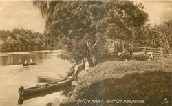A BANK ON THE BELIZE RIVER