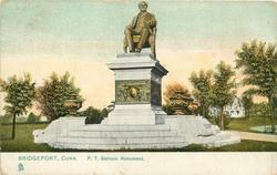 P.T. BARNUM MONUMENT