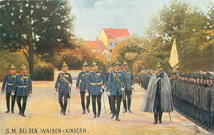 S.M. BIE DEN WAISEN-KINDERN
