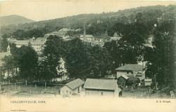 COLLINSVILLE, CONN.  bird's-eye view