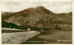 KIEL HILL FROM ARDGOUR PIER