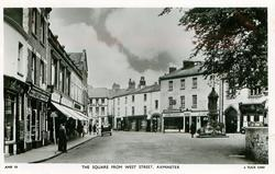 THE SQUARE FROM WEST STREET