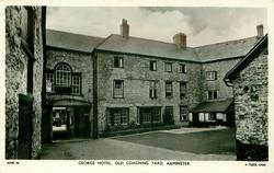 GEORGE HOTEL. OLD COACHING YARD