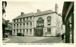 GEORGE HOTEL. OLD WORLD COACHING HOUSE