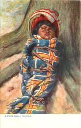 A PIUTE INDIAN  PAPOOSE