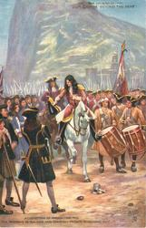 ACQUISITION OF GIBRALTAR, 1704 THE MARQUIS DE SALINES //MARCHING OUT