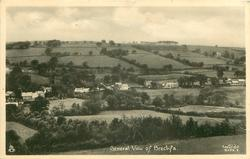 GENERAL VIEW OF BRECHFA, view of center and right of hill