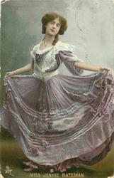 MISS JENNIE BATEMAN