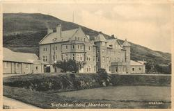 TREFEDDIAN HOTEL  hotel centre, mid-distant view