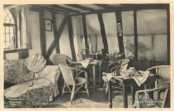 A ROOM AT JEREMIAH'S TEA HOUSE