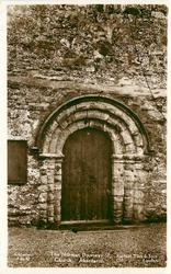NORMAN DOORWAY OF CHURCH