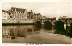 RIVER AYR AND BRIDGE