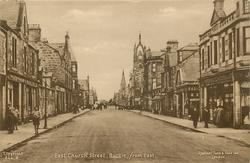 EAST CHURCH STREET, BUCKIE, FROM EAST