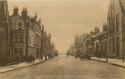 EAST CHURCH STREET, BUCKIE, FROM THE SQUARE