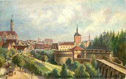 ST. ULRICH KIRCHE UND ROTES TOR