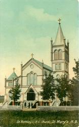 ST. ANTHONY'S R.C. CHURCH, ST. MARY'S N.B.