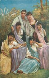 A GROUP OF PARSI LADIES