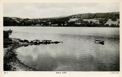 BALA LAKE  close up, row boat