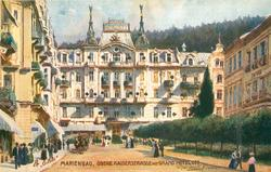 OBERE KAISERSTRASSE MIT GRAND HOTEL OTT ( now called Hotel Pacifx, Pacific)