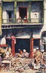 A BAZAAR SCENE, DELHI