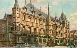 PALAIS GRAND DUCAL. GROSSHERZOGL PALAST