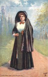 A MALTESE LADY WITH FALDETTA