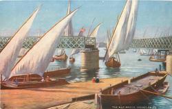 THE NILE BRIDGE, OPENED, CAIRO
