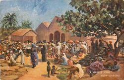 A MARKET SCENE, ACCRA