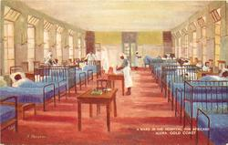A WARD IN THE HOSPITAL FOR AFRICANS, ACCRA
