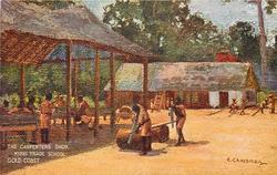THE CARPENTER'S SHOP, KIBBI TRADE SCHOOL